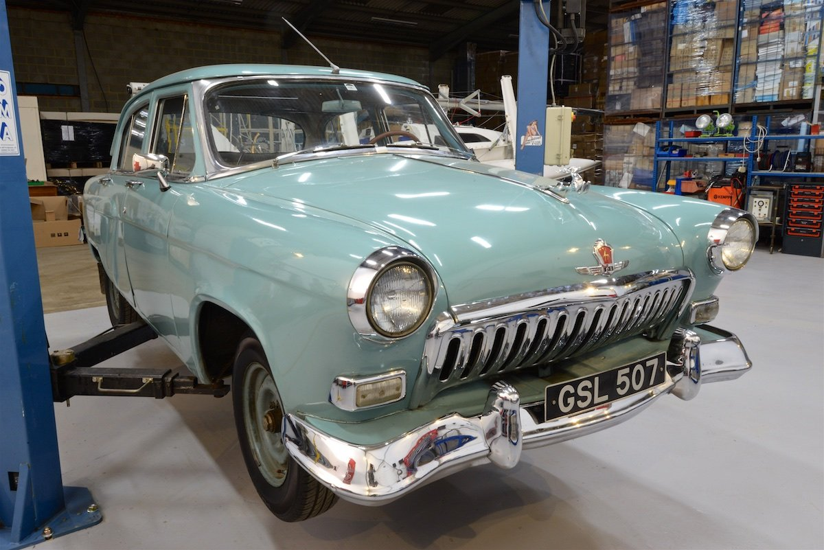 1960 Volga M21 – UK Export Model For Sale (picture 1 of 6)
