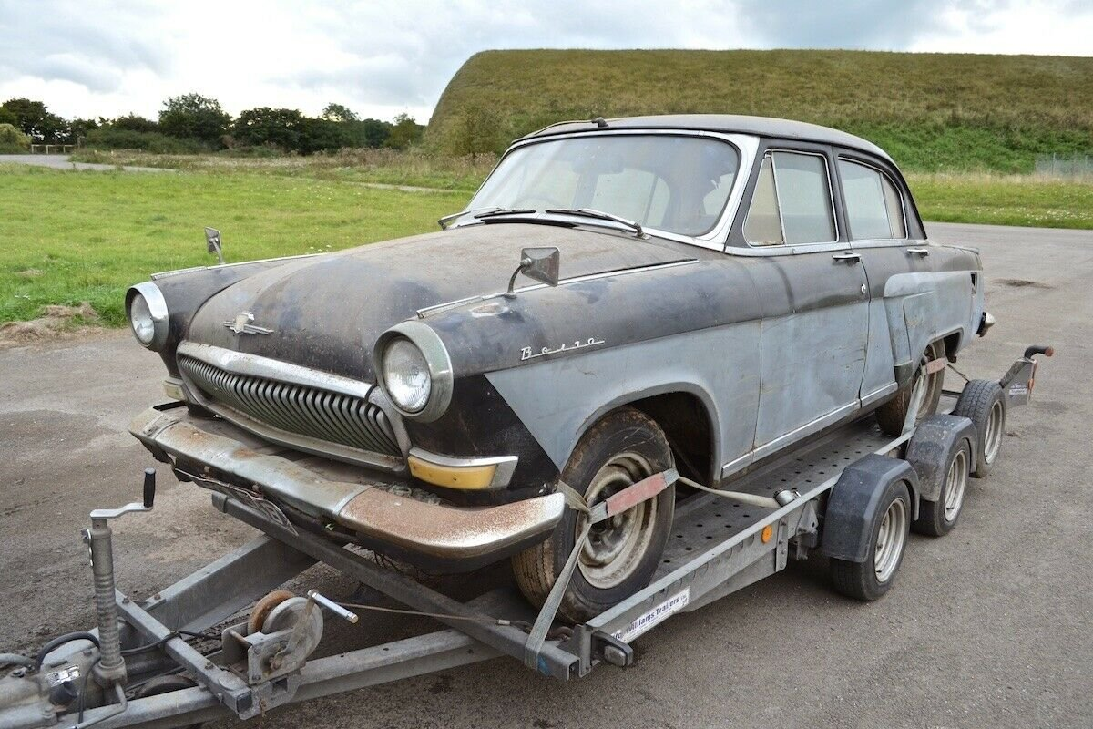 1963 Volga GAZ M21P Right-hand drive  For Sale (picture 1 of 6)