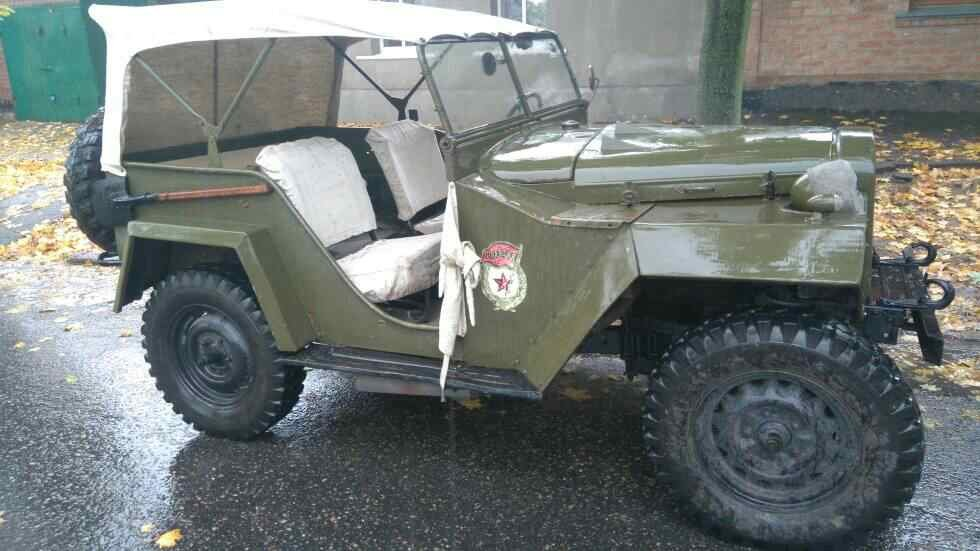 1943 Gaz 67 (Soviet  Jeep Willys MA) WWII car For Sale (picture 1 of 3)