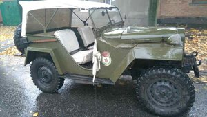 1943 Gaz 67 (Soviet  Jeep Willys MA) WWII car