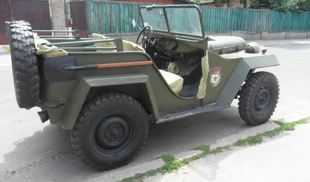 1943 Gaz 67 (Soviet  Jeep Willys MA) WWII car For Sale (picture 2 of 3)