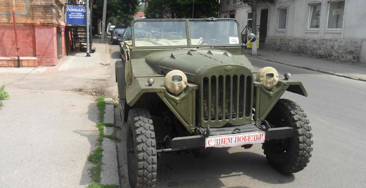 1943 Gaz 67 (Soviet  Jeep Willys MA) WWII car For Sale (picture 3 of 3)