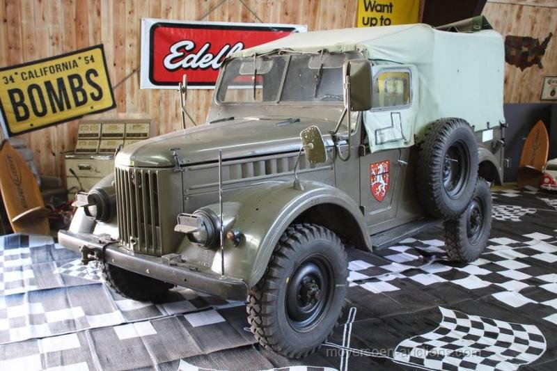 1967 GAZ 69M For Sale by Auction (picture 1 of 6)