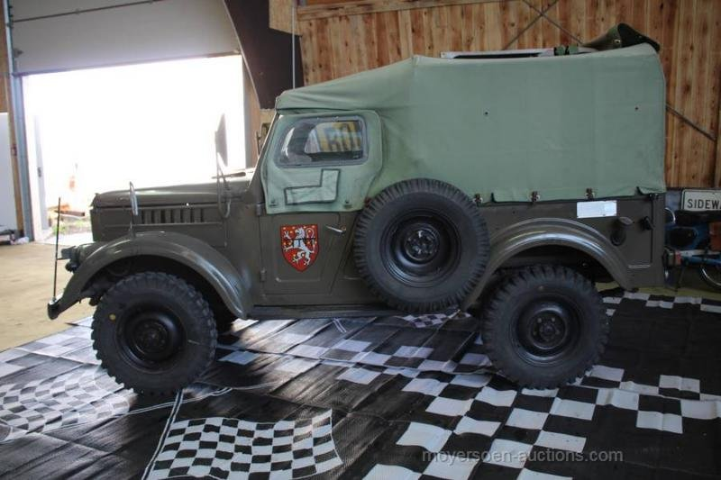 1967 GAZ 69M For Sale by Auction (picture 2 of 6)