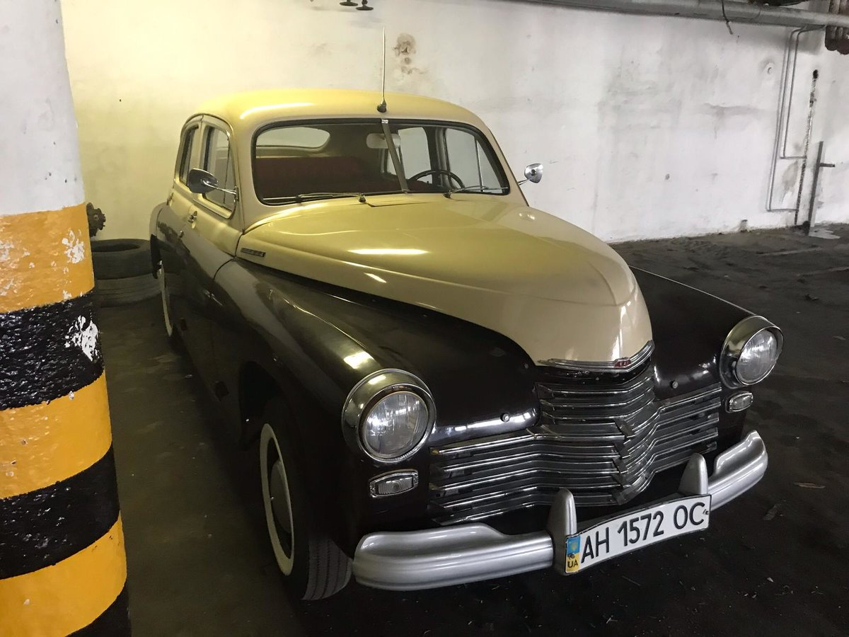 1954 Gaz M20 Pobeda For Sale (picture 4 of 6)