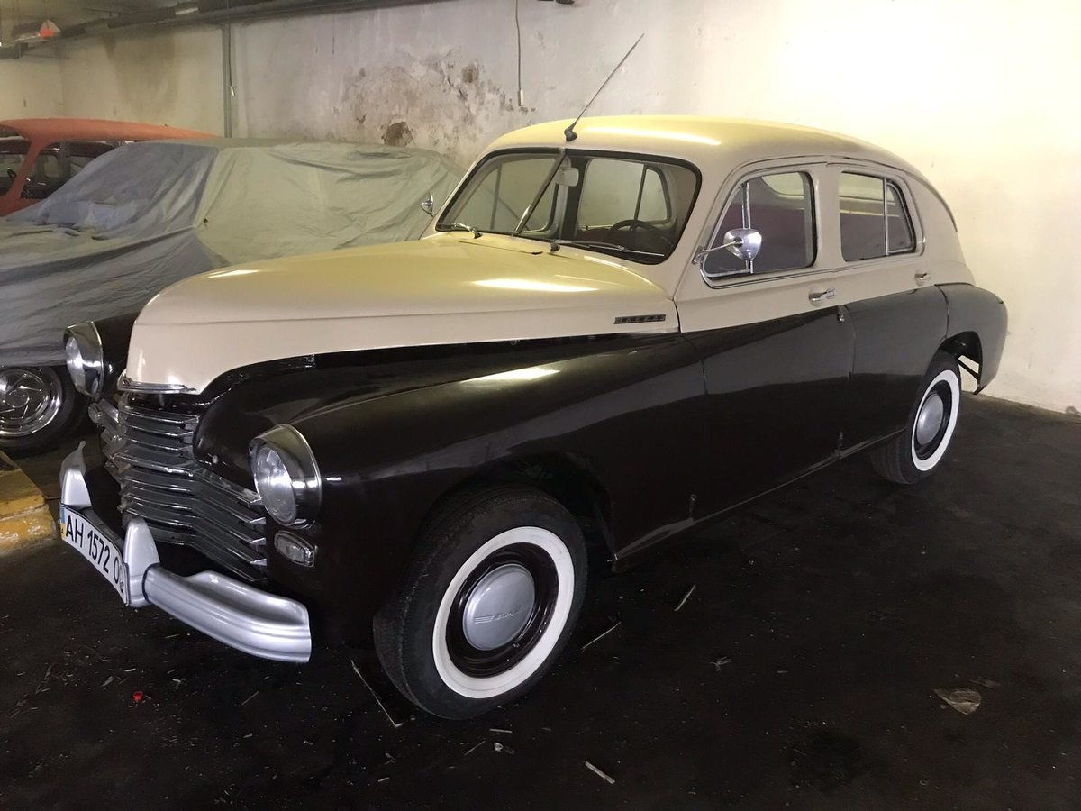 1954 Gaz M20 Pobeda For Sale (picture 5 of 6)