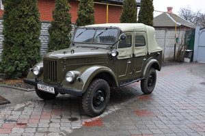 1966 GAZ-69A ideal condition, Man, Original parts For Sale