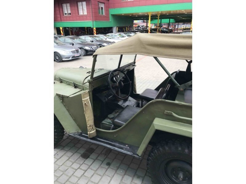 1943 Gaz 67 (Soviet  Jeep Willys MA) WWII car For Sale (picture 1 of 5)