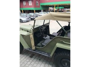 Gaz 67 (Soviet  Jeep Willys MA) WWII car