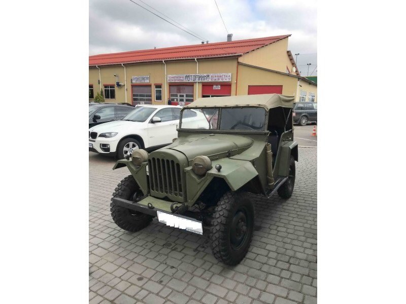 1943 Gaz 67 (Soviet  Jeep Willys MA) WWII car For Sale (picture 2 of 5)
