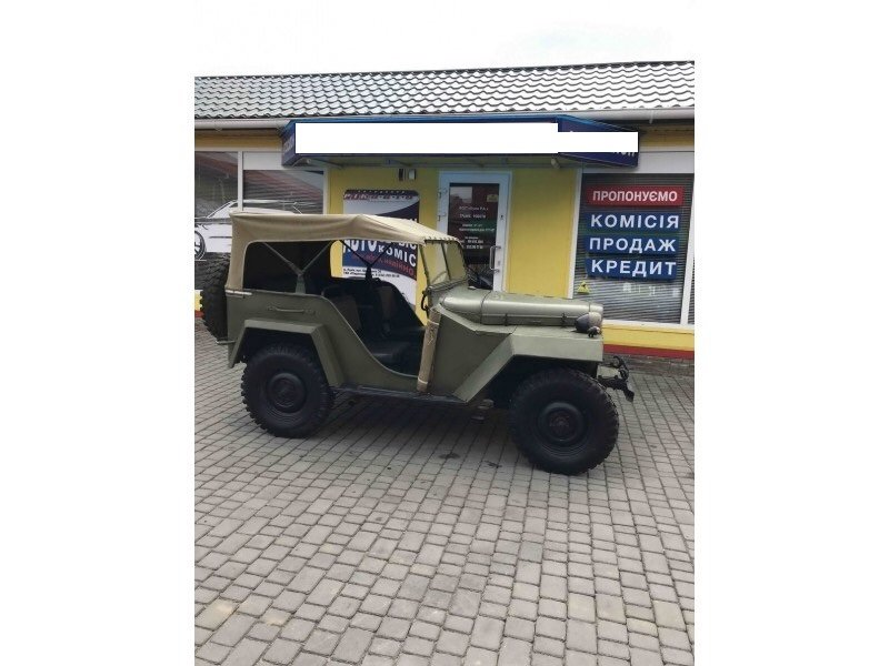 1943 Gaz 67 (Soviet  Jeep Willys MA) WWII car For Sale (picture 3 of 5)