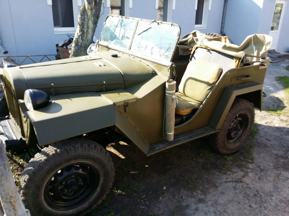 1943 Gaz 67 (Soviet  Jeep Willys MA) WWII car For Sale (picture 4 of 5)