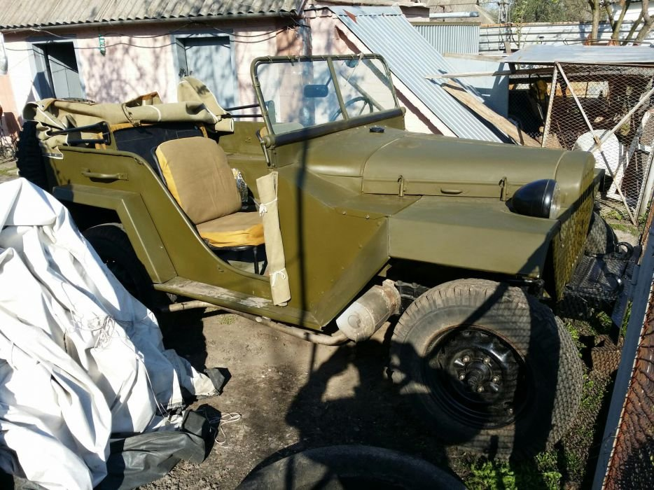 1943 Gaz 67 (Soviet  Jeep Willys MA) WWII car For Sale (picture 5 of 5)