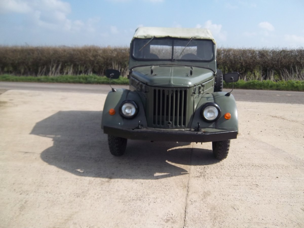 1958 GAZ69 Russian military lightweight 4 x 4 For Sale (picture 1 of 6)