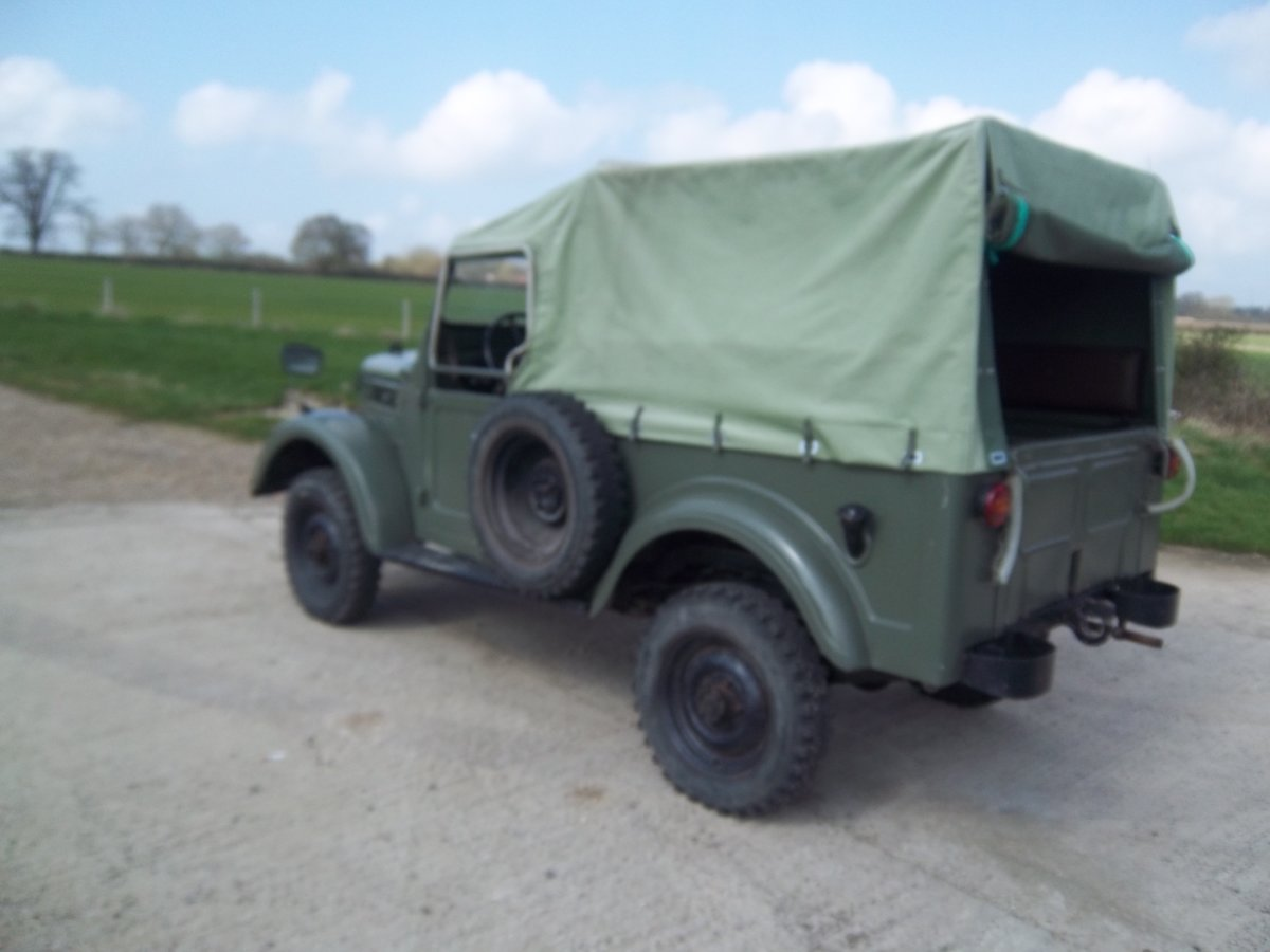 1958 GAZ69 Russian military lightweight 4 x 4 For Sale (picture 2 of 6)