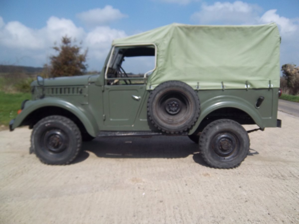 1958 GAZ69 Russian military lightweight 4 x 4 For Sale (picture 3 of 6)