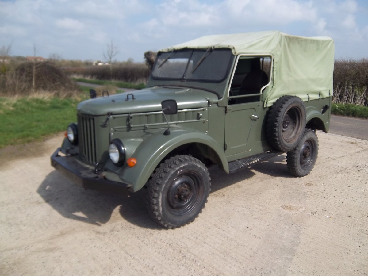 1958 GAZ69 Russian military lightweight 4 x 4 For Sale (picture 4 of 6)