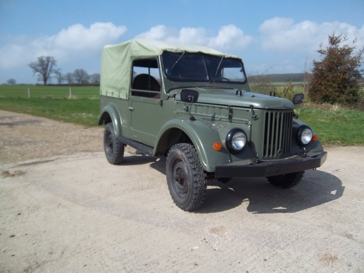 1958 GAZ69 Russian military lightweight 4 x 4 For Sale (picture 6 of 6)