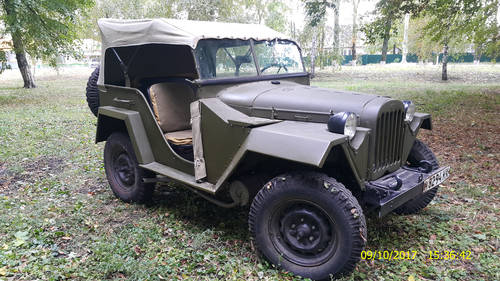 1943 Gaz 67 (Soviet  Jeep Willys MA) WWII car For Sale (picture 1 of 2)