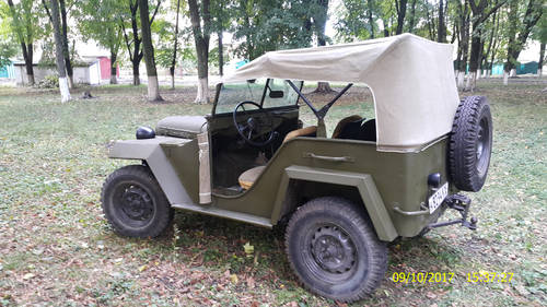 1943 Gaz 67 (Soviet  Jeep Willys MA) WWII car For Sale (picture 2 of 2)