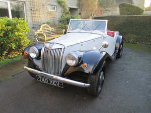 1961 MG TF 'Gentry' . For Sale