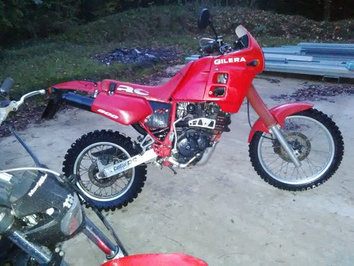 1990 Gilera RC 600 For Sale (picture 2 of 6)