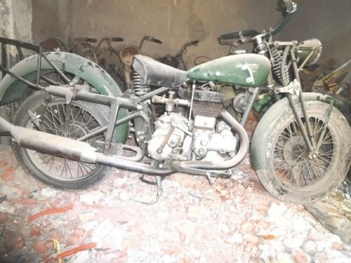 1936 gilera lte 500 military wwii alamein desert v For Sale (picture 1 of 6)
