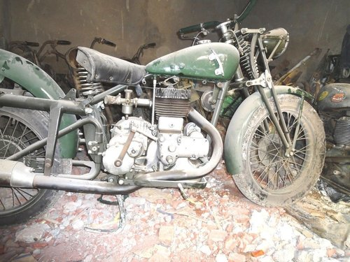 1936 gilera lte 500 military wwii alamein desert v For Sale (picture 2 of 6)