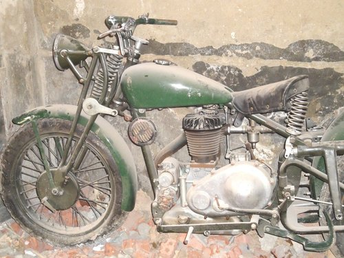 1936 gilera lte 500 military wwii alamein desert v For Sale (picture 3 of 6)