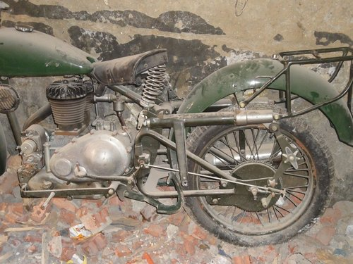 1936 gilera lte 500 military wwii alamein desert v For Sale (picture 4 of 6)