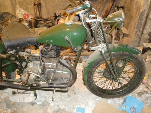 1936 gilera lte 500 military wwii alamein desert v For Sale (picture 5 of 6)