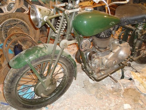 1936 gilera lte 500 military wwii alamein desert v For Sale (picture 6 of 6)