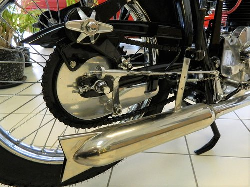 1949 GILERA SATURNO 500 For Sale (picture 5 of 6)
