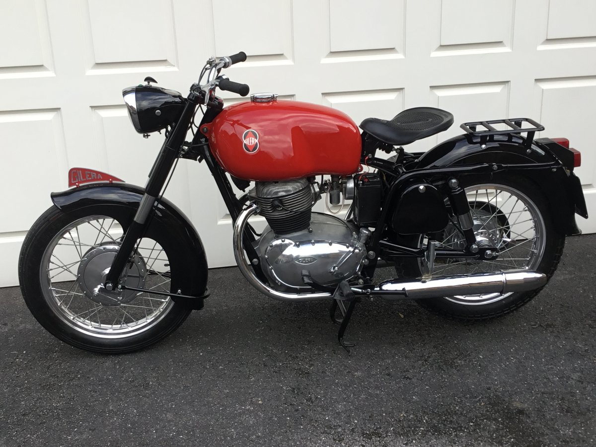 1963 GILERA B300 EXTRA – TWIN CYLINDER! (Reduced) For Sale (picture 1 of 6)