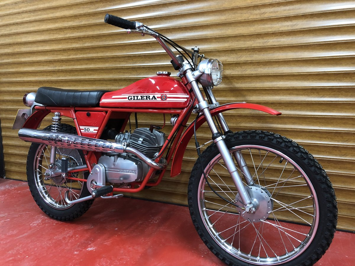 1974 GILERA TRAIL TRIAL FANTASTIC 50CC MOPED YAM FS1E ERA £5995  For Sale (picture 3 of 6)