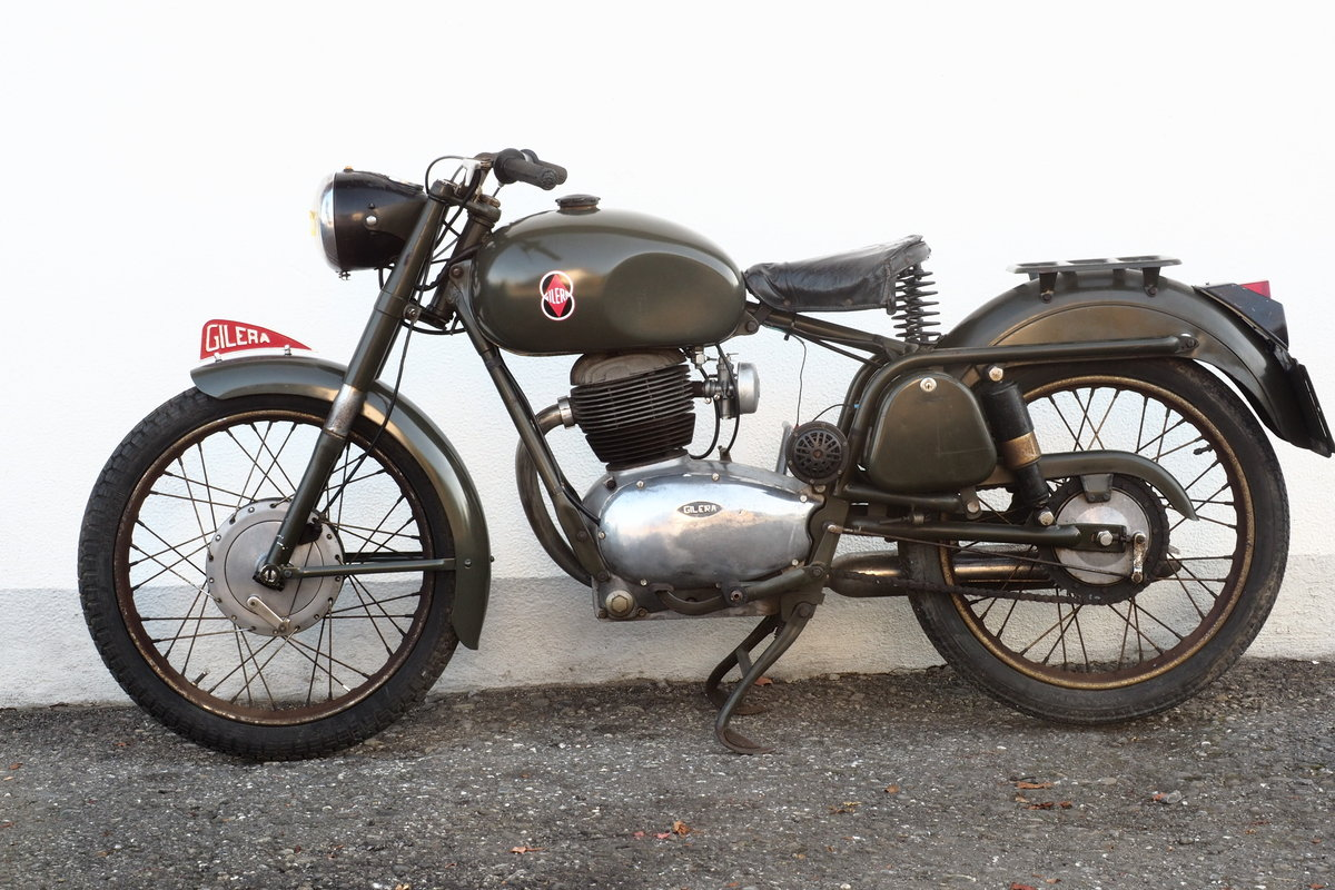 1959 Gilera 175 Militare For Sale (picture 1 of 6)