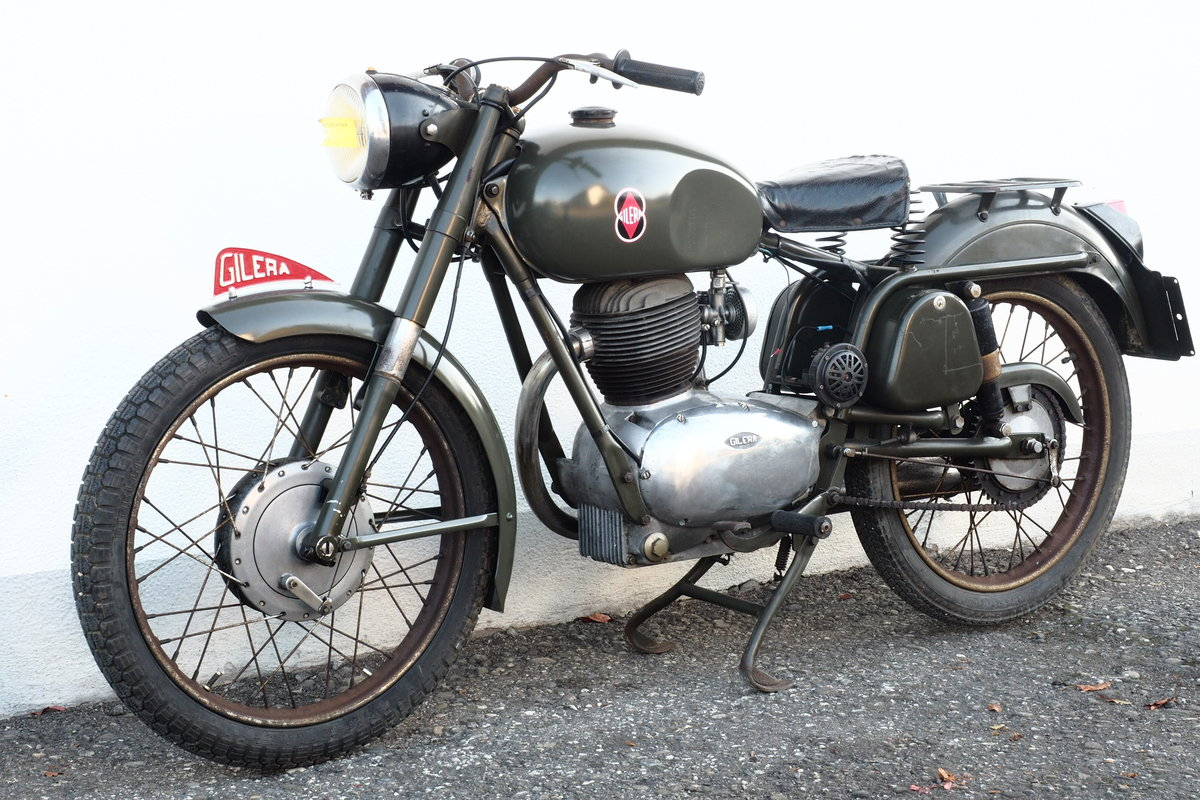 1959 Gilera 175 Militare For Sale (picture 5 of 6)