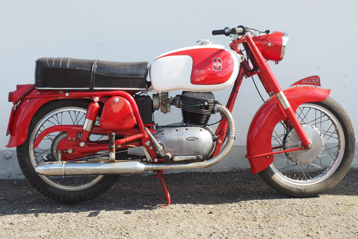 1962 Gilera 300 B Rossa Extra For Sale (picture 1 of 6)