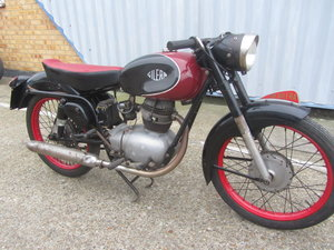 GILERA SUPER SPORT ORIGINAL ITALIAN MOTORCYCLE For Sale