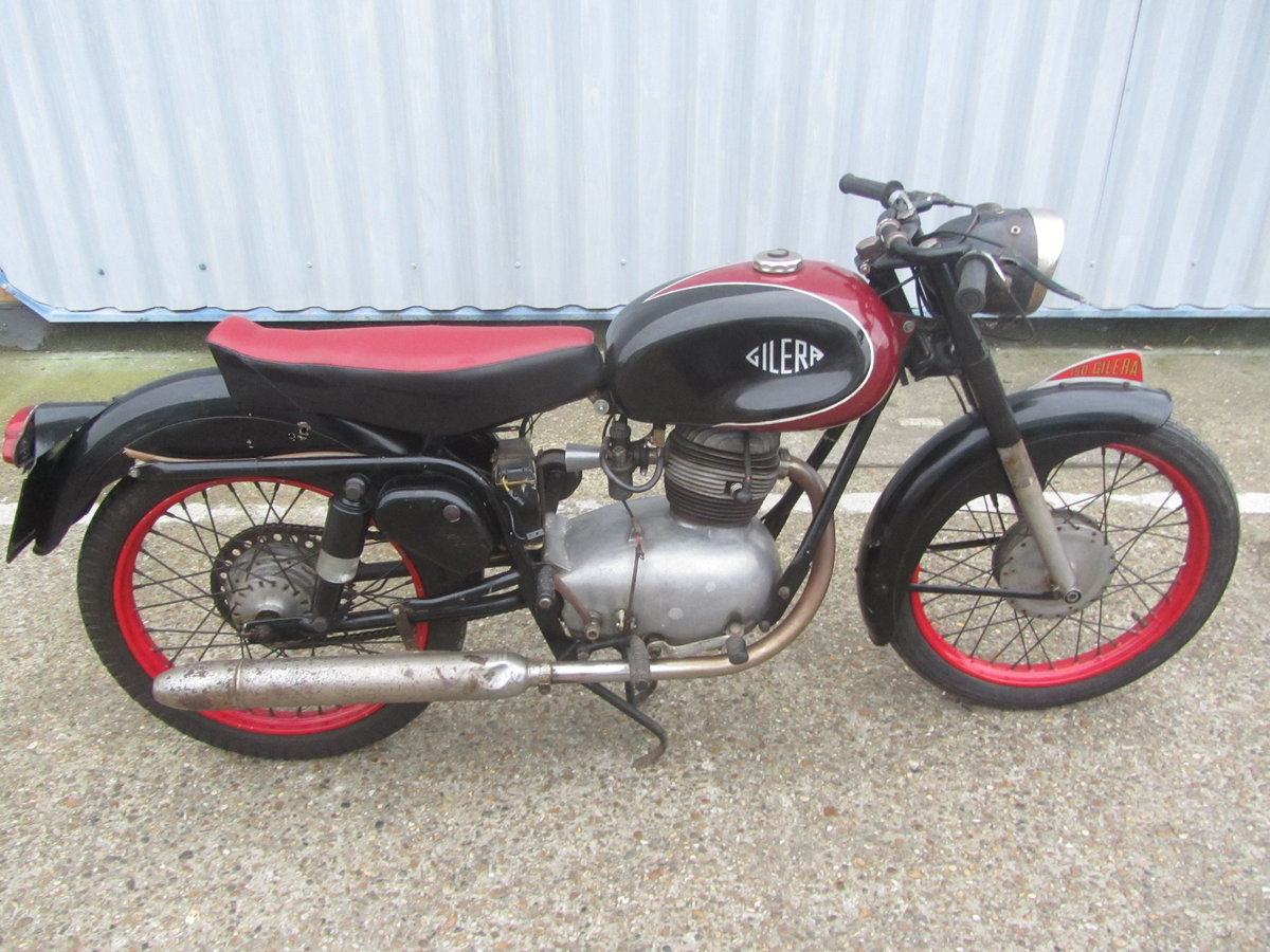 GILERA SUPER SPORT ORIGINAL ITALIAN MOTORCYCLE For Sale (picture 2 of 6)
