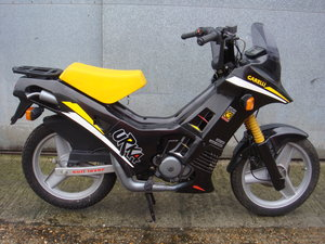 Gilera UKRA 50 - 1988 - NOS never used Italian Geared Moped SOLD