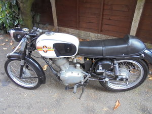 Gilera 125cc int six day special edition 1962 rare For Sale