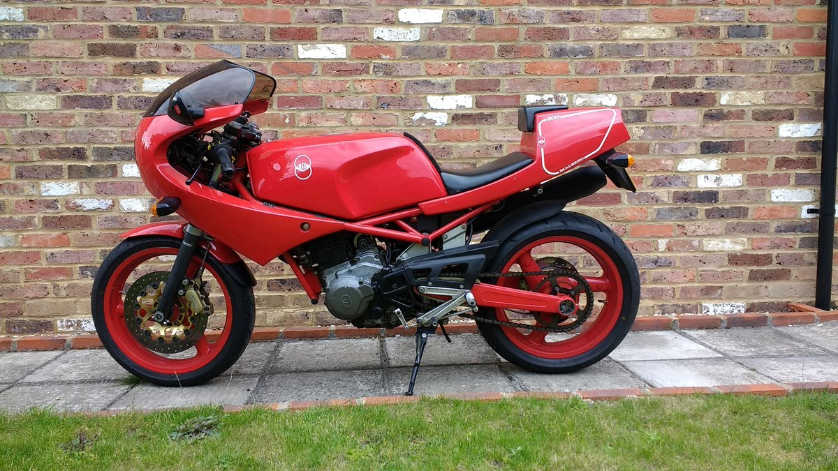 1991 Gilera Saturno Nuovo 500 For Sale (picture 1 of 6)
