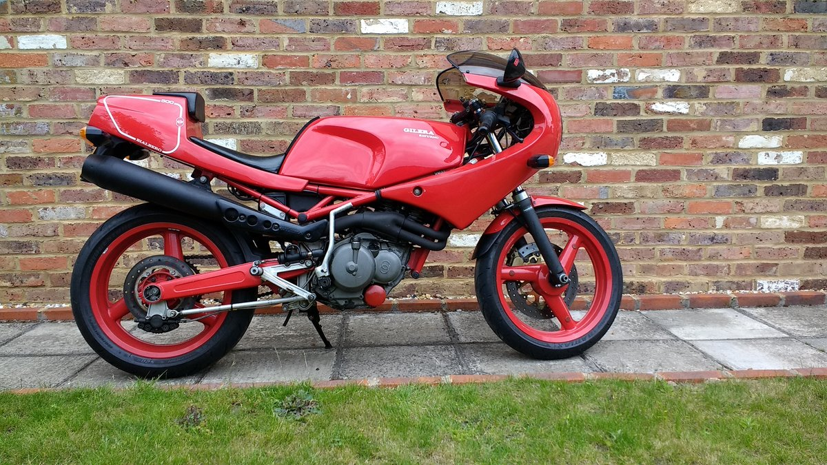 1991 Gilera Saturno Nuovo 500 For Sale (picture 2 of 6)