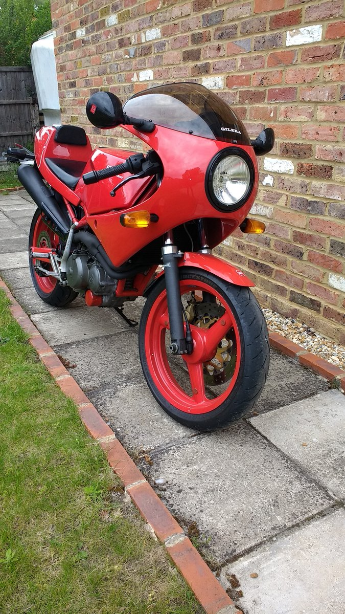 1991 Gilera Saturno Nuovo 500 For Sale (picture 4 of 6)