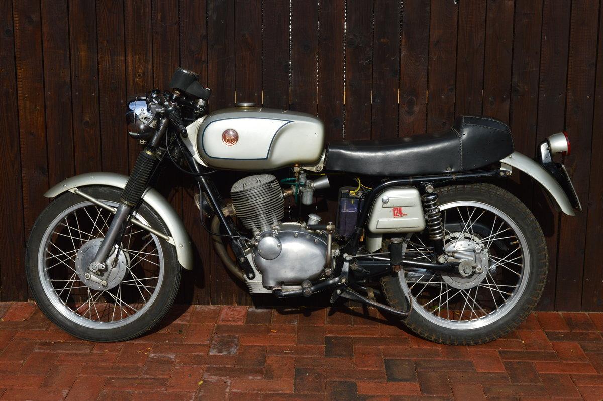 1970 Rare Very Original Gilera 124 For Sale (picture 3 of 6)