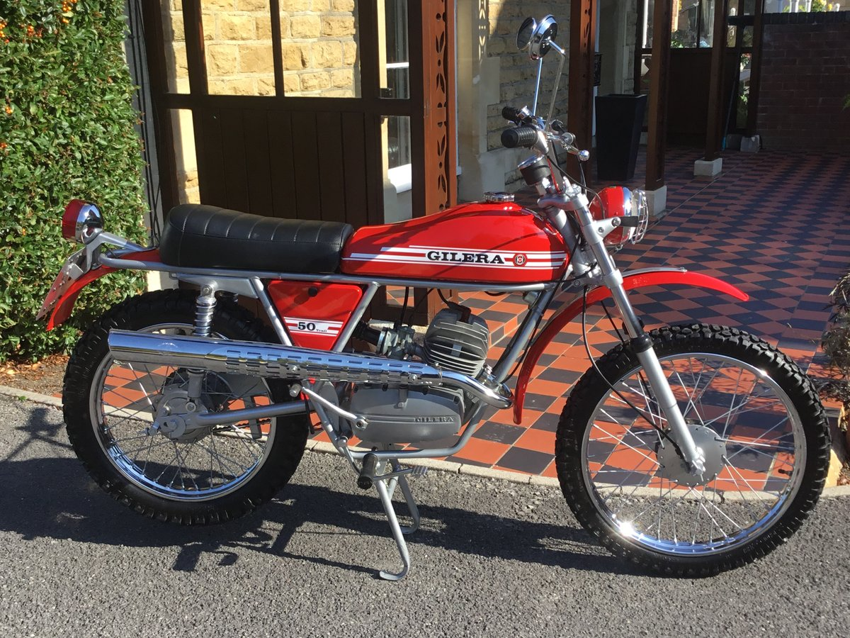 1974 GILERA 50 TRIAL, CONCOURS! For Sale (picture 1 of 6)