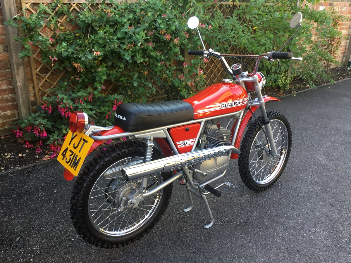 1974 GILERA 50 TRIAL, CONCOURS! For Sale (picture 2 of 6)