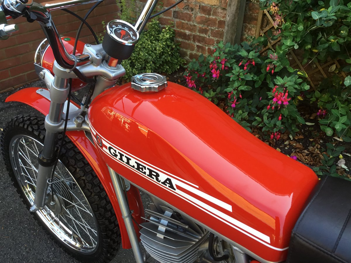 1974 GILERA 50 TRIAL, CONCOURS! For Sale (picture 5 of 6)