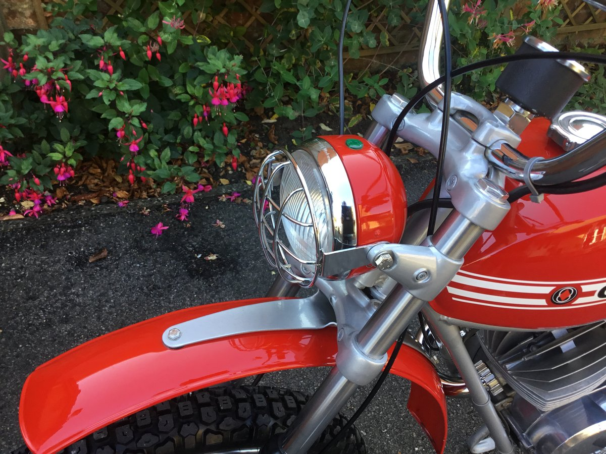 1974 GILERA 50 TRIAL, CONCOURS! For Sale (picture 6 of 6)